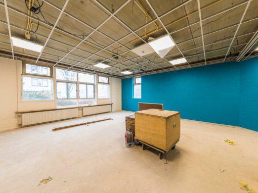 Schilderwerken Rotterdam I.K.C. School De Nieuwe Haven